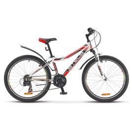 Велосипед Stels Navigator 420 V 24 (2016) Белый/Черный/Красный , интернет-магазин Sportcoast.ru