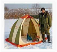 Какая палатка лучше подходит для зимней рыбалки?