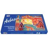 Краски акварельные художественные Гамма Студия 24 цвета по 2,5 мл 215001