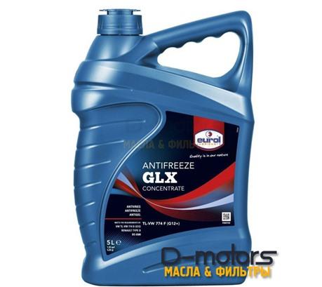 Антифриз готовый красный EUROL COOLANT GLX G12+ (5л)