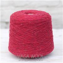 Пряжа Твид-мохер Костяника 2734, 200м/50гр. Knoll Yarns, Mohair Tweed, Bramble Stone