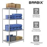 Стеллаж металлический Brabix MS Plus-185/60-4 (S241BR156402)