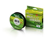 Леска плетеная Allvega Bullit Braid 92м 0,14мм 8,4кг темно-зеленая
