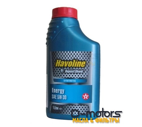 Моторное масло TEXACO HAVOLINE ENERGY 5W-30 (1л.)